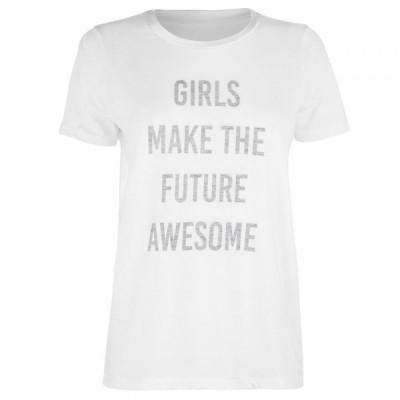 ブレイクセブン Blake Seven レディース トップス Girls Future T Shirt White
