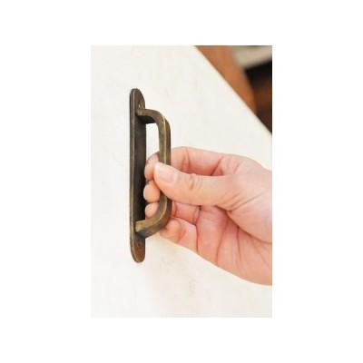 真鍮 ツマミ 取っ手 ハンドル 引き出し ドア 扉 キャビネット つまみ レトロ アンティーク調 DIY アンティークブラスプル ラウンデッド