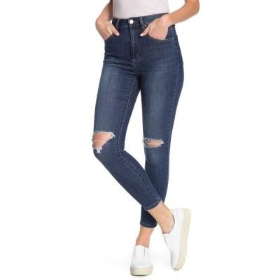 コットンオン レディース デニムパンツ ボトムス High Rise Grazer Skinny Jeans BERKLEY BLUE RIPS