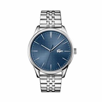 腕時計  Lacoste メンズ Vienna クォーツウォッチ ステンレススチールストラップ シルバー 20 モデル:2011049