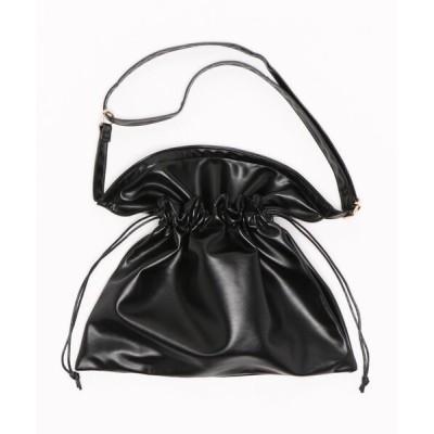 ViS / 巾着サコッシュ WOMEN バッグ > ショルダーバッグ