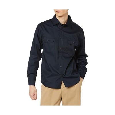 ユナイテッドアスレ ワークシャツ T/Cワークロングスリーブシャツ ダークネイビー 日本 M (日本サイズM相当)