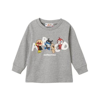 【アンパンマン】裏毛トレーナー(男の子 女の子 ベビー服 子供服) (トレーナー・スウェット)Kids' Sweatshirts