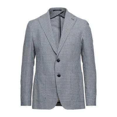 タリアトーレ TAGLIATORE テーラードジャケット ブルー 50 コットン 79% / リネン 15% / シルク 6% テーラードジャケット