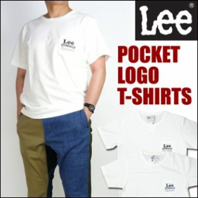 セール リー Lee ポケットロゴTシャツ/OVERALLS ワンポイント LT2172 メンズ プレゼント ギフト