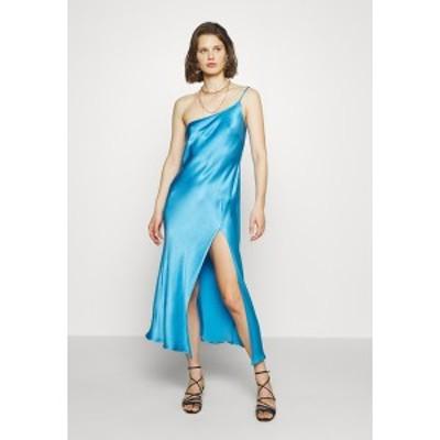 ベックアンドブリッジ レディース ワンピース トップス FREDERIC ASYM MIDI DRESS - Cocktail dress / Party dress - azure azure