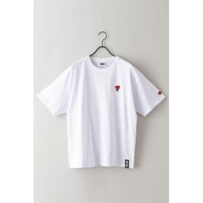 【BT21】ワンポイント刺繍Tシャツ