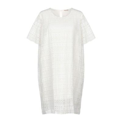 EMMA & GAIA ミニワンピース&ドレス ホワイト 44 ポリエステル 100% ミニワンピース&ドレス