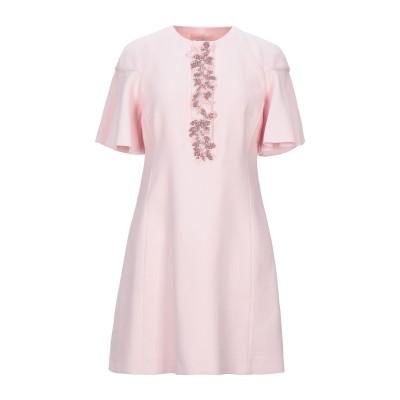 ジャンバティスタ ヴァリ GIAMBATTISTA VALLI ミニワンピース&ドレス ピンク 42 コットン 45% / レーヨン 39% / ナ