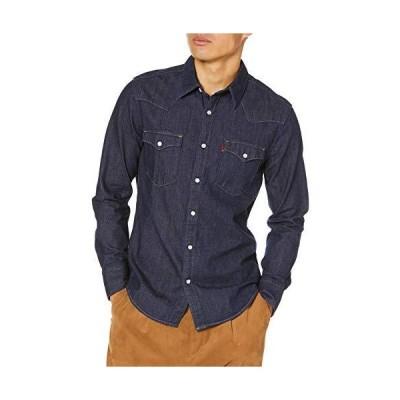 [リーバイス] デニムシャツ ウエスタンシャツ WESTERN STANDARD メンズ 85744-0000 Blues US M (日本