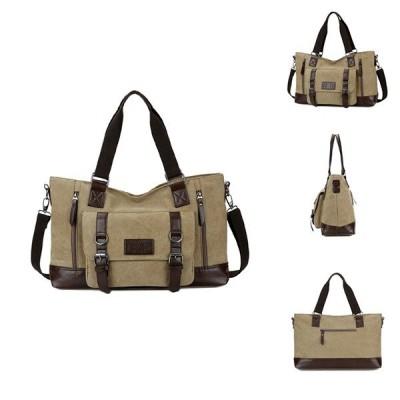 メンズキャンバス新しいスタイルのカジュアルショルダースリングバッグハンドバッグトラベルバッグ