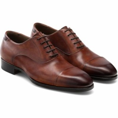 マグナーニ MAGNANNI メンズ 革靴・ビジネスシューズ シューズ・靴 Bolo Cap Toe Oxford Cognac Leather