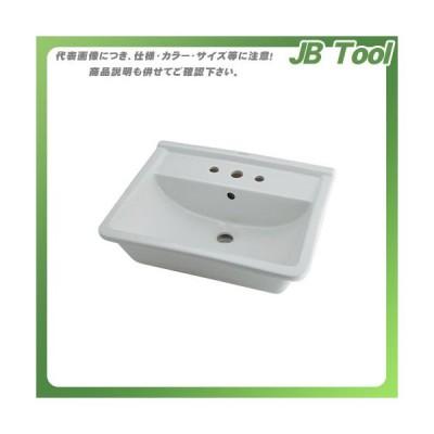カクダイ 角型洗面器 3ホール DU-0302560030