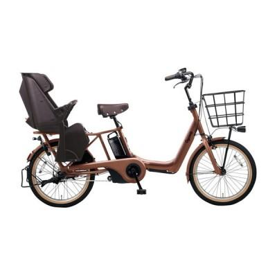 PANASONIC BE-ELAD032-T マットフォースブラウン ギュット・アニーズ・DX [電動アシスト自転車(20インチ・内装3段変速)] 電動自転車