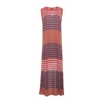 ウールリッチ WOOLRICH 7分丈ワンピース・ドレス カーキ XS 麻 100% 7分丈ワンピース・ドレス