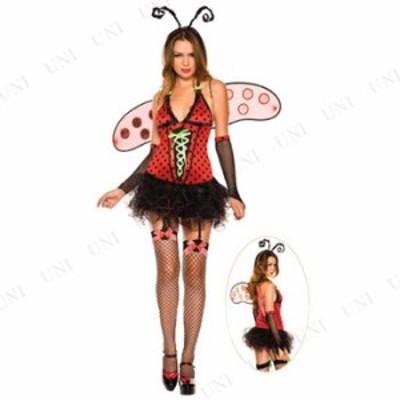 コスプレ 仮装 デイジーバグBUG S/M コスプレ 衣装 ハロウィン 仮装 女性 てんとう虫 グッズ コスチューム 大人用 パーティーグッズ 余興