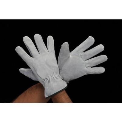 エスコ ESCO [L] 手袋(牛革) EA353GE-8 [I260128]