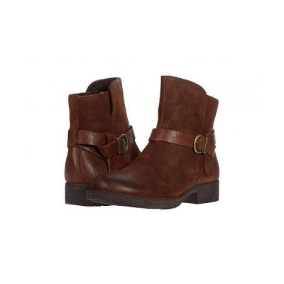 Born ボーン レディース 女性用 シューズ 靴 ブーツ アンクル ショートブーツ Syd - Bark (Brown) Distressed