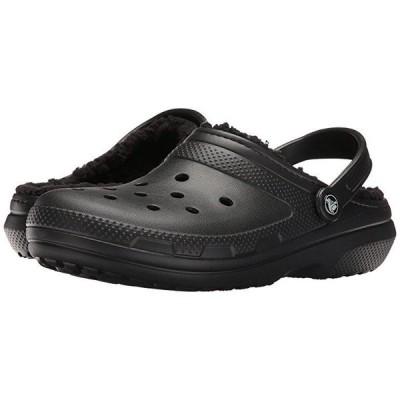 クロックス Classic Lined Clog メンズ Clogs Black/Black