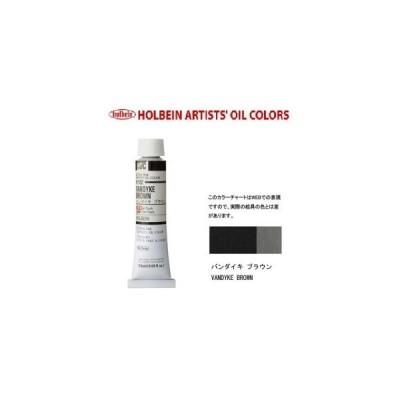 ホルベイン油絵具6号(20ml) H152 バンダイキブラウン