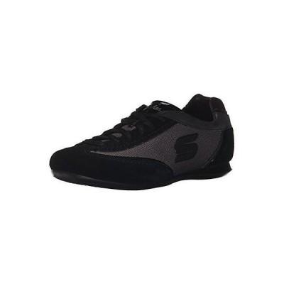 スケッチャーズ アスレチック シューズ スポーツ 靴 Skechers 4093 レディース Bella ブラック レザー メタリック ファッション スニーカー シューズ 6 BHFO