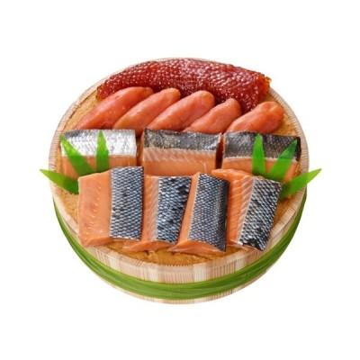 (送料込み) 新潟小川屋 三色漬 OS100 お取り寄せ 新潟の味 魚介ギフト(期日指定できません)