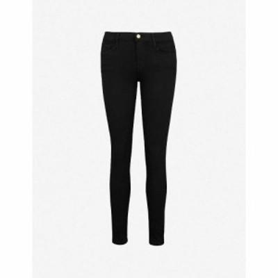 フレーム FRAME レディース ジーンズ・デニム ボトムス・パンツ Le Skinny de Jeanne skinny mid-rise jeans FILM NOIR