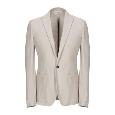 パオロ ペコラ PAOLO PECORA テーラードジャケット ベージュ 52 コットン 80% / ナイロン 20% テーラードジャケット