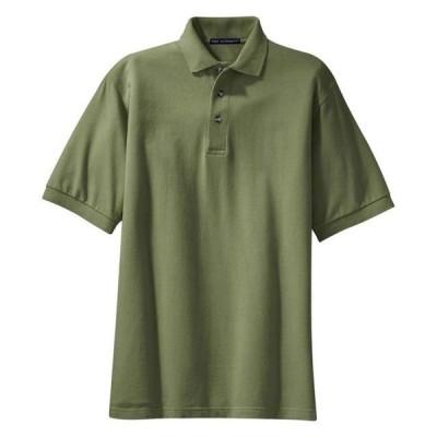 メンズ 衣類 トップス Port Authority Men's Heavyweight Pique Knit Polo Shirt ブラウス&シャツ
