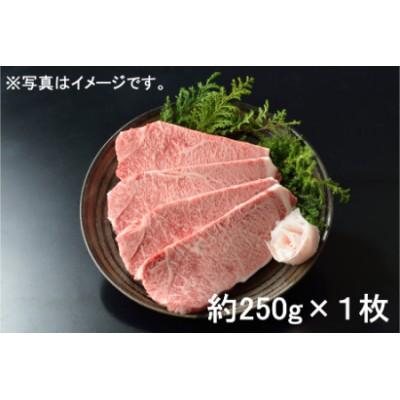 【2629-0083】東浦町産最高級A5ランク黒毛和牛 サーロインステーキ(約250g×1枚)