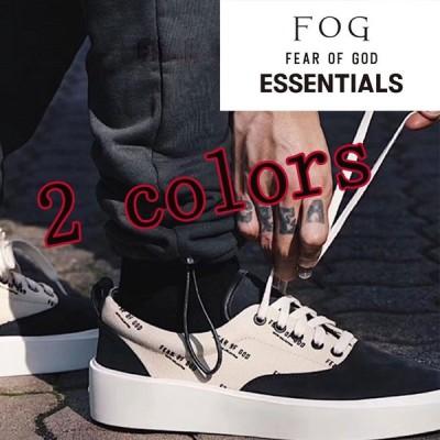 並行輸入品FOG ESSENTIALS エフオージー エッセンシャルズ メンズ靴 帆布 カジュアル紳士靴 ズック靴ローカット