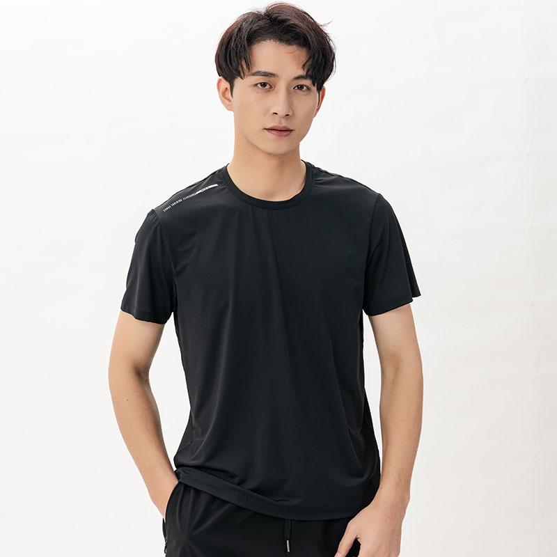 DZRZVD杜戛地【110519男款涼感T恤】【黑色】