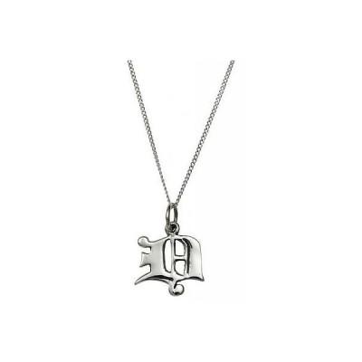 ネックレス & ペンダント  ファムメタルジュエリー Femme Metale .925 Sterling Silver Love Letter D Charm Necklace