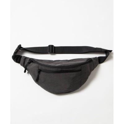 【ウィゴー】 ベーシックウエストバッグ ユニセックス ブラック系 F WEGO