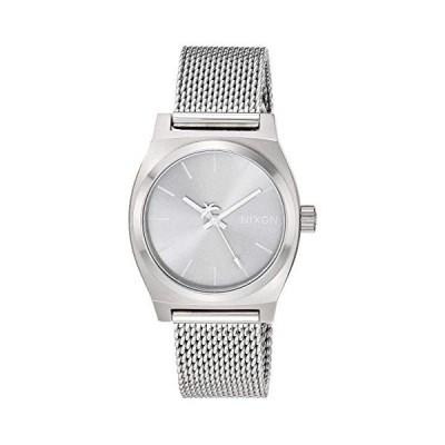 Nixon Medium Time Teller Milanese All Silver One Size