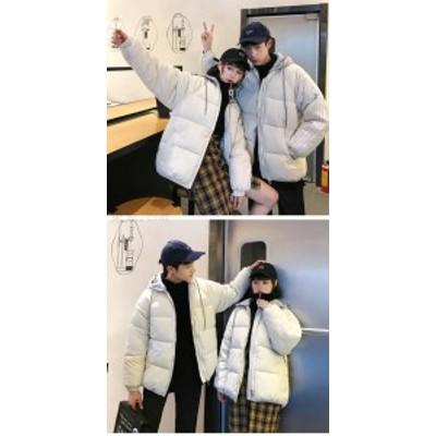 【送料無料】ダウンコート レディース 男女兼用 綿ジャケット  大人フェミニン フード  着痩せ 大きいサイズあり