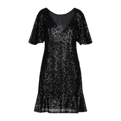 モーテル MOTEL ミニワンピース&ドレス ブラック S ポリエステル 100% ミニワンピース&ドレス