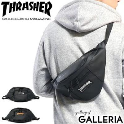 【商品レビューで+5%】スラッシャー ウエストバッグ THRASHER ウエストポーチ ボディバッグ 斜めがけ 高校生 ストリート コンパクト TH