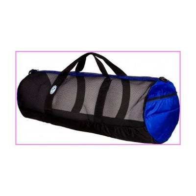 "【送料無料】Stahlsac by Bare 36"" Mesh Duffel Bag (Black/Blue)【並行輸入品】"