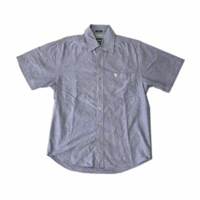 ABERCROMBIE & FITCH アバクロンビー&フィッチ オックスフォードシャツ (半袖 カッターシャツ 定番) 121522 【中古】