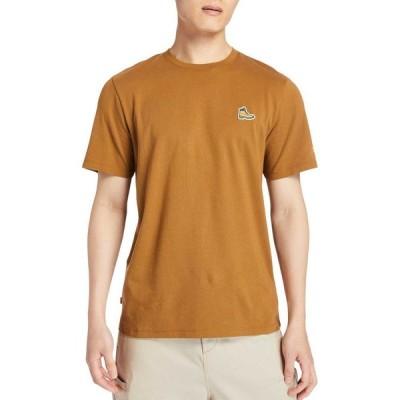 ティンバーランド Timberland メンズ Tシャツ トップス Boot Logo T-Shirt Rubber