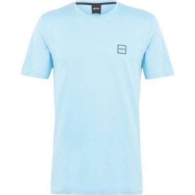 ヒューゴ ボス Boss メンズ Tシャツ トップス Tales T Shirt Turq