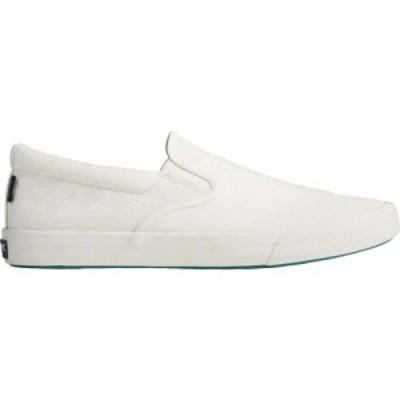 スペリートップサイダー Sperry メンズ スリッポン・フラット スニーカー シューズ・靴 Striper II BIONIC Slip-On Sneaker Off-White