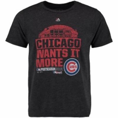 Majestic Threads マジェスティック スレッド スポーツ用品  Majestic Threads Chicago Cubs Black Division Series W