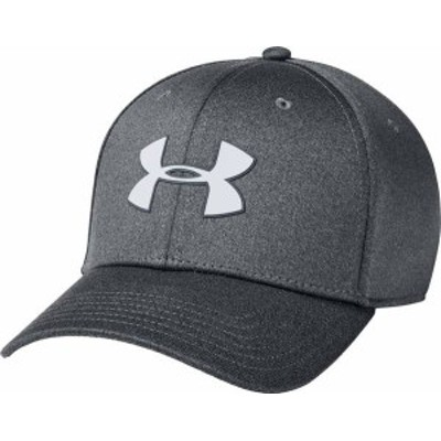 アンダーアーマー メンズ 帽子 アクセサリー Under Armour Men's Armour Twist Stretch Hat Pitch Gray/Pitch Gray