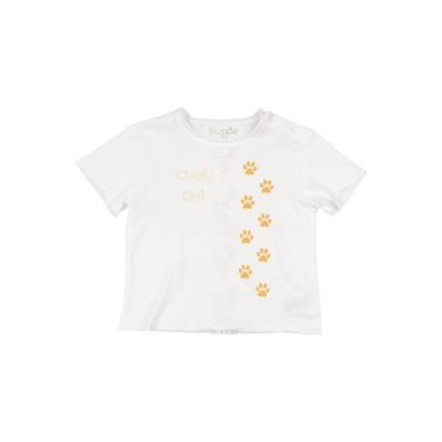 FRUGOO T シャツ ホワイト 6 コットン 100% T シャツ
