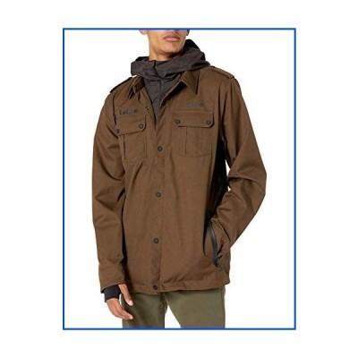【新品】Volcom Men's Creedle2stone Military Style Snow Jacket, BLACK MILITARY, XS【並行輸入品】