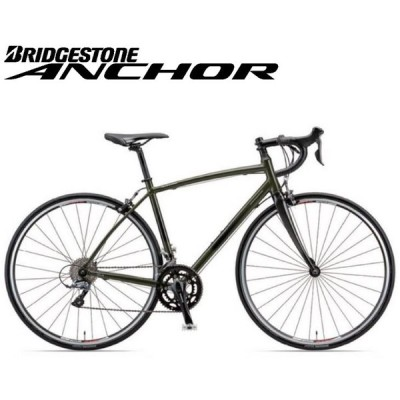 ロードバイク 2021 ANCHOR アンカー RL3 DROP CLARIS MODEL RL3ドロップ クラリス仕様 フォレストカーキ 16段変速 700C アルミ