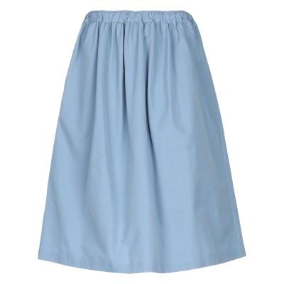 PLAN C 7分丈スカート スカイブルー 40 コットン 60% / ナイロン 40% 7分丈スカート