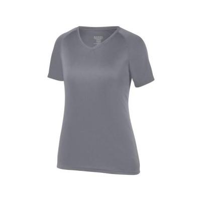 レディース 衣類 トップス Augusta Sportswear S Womens Attain Raglan Sleeve Wicking Tee Power Blue 2792 Tシャツ